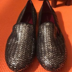 Marc Jacob Sequin Slip On Loafers